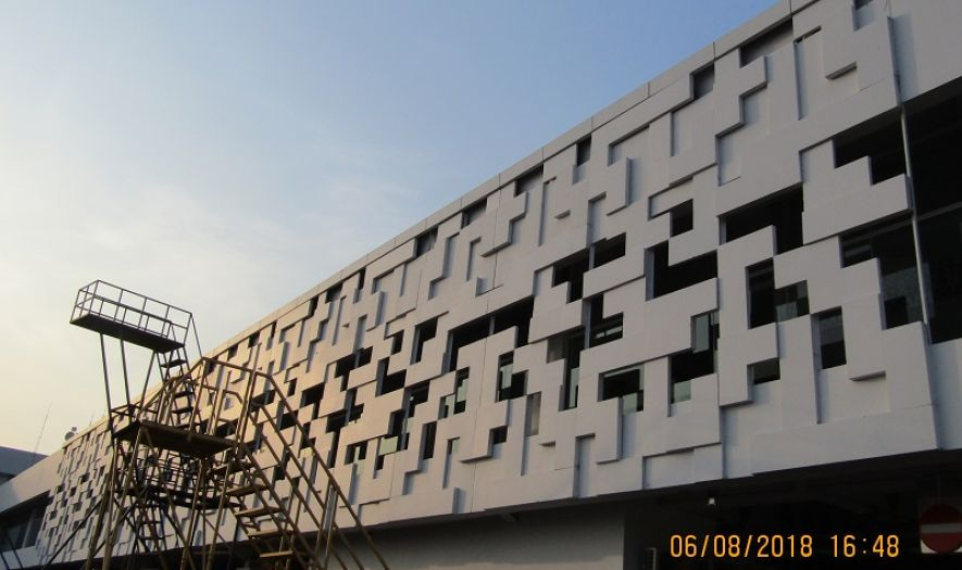 Gallery Projects GFRC - A.Yani Airport , Semarang 1 gfrc__a_yani_airport_semarang